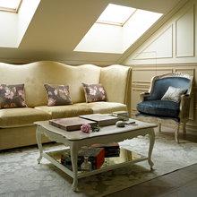 Фотография: Гостиная в стиле , Классический, Эклектика, Квартира, Текстиль, Дома и квартиры – фото на InMyRoom.ru