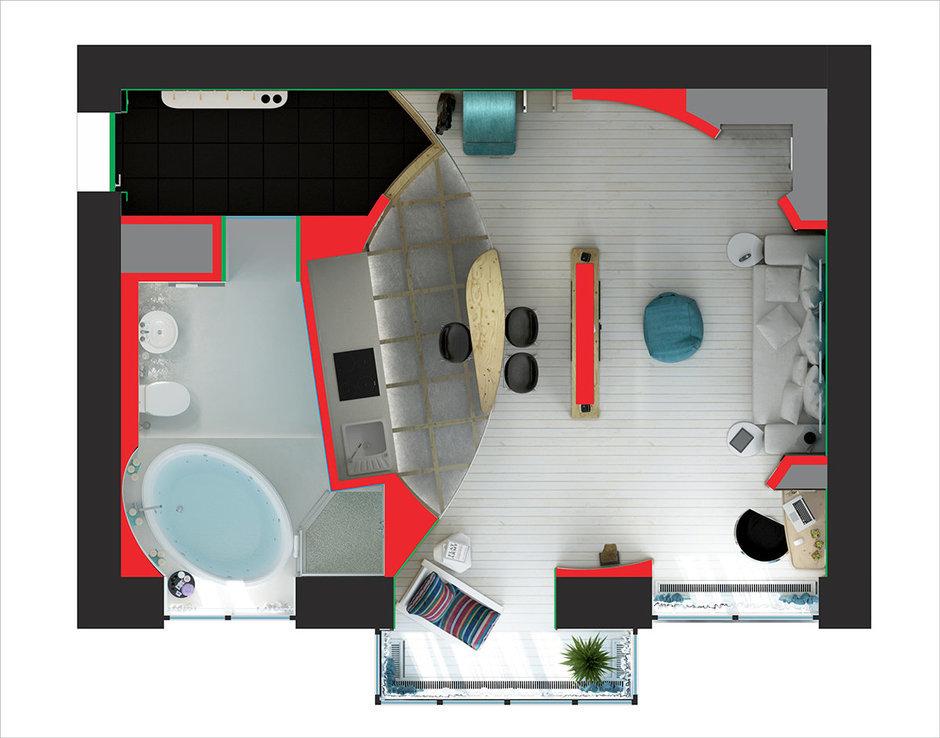 Фотография: Гостиная в стиле Прованс и Кантри, Эклектика, Лофт, Квартира, Перепланировка – фото на InMyRoom.ru