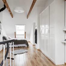 Фото из портфолио Двухуровневая квартира, такая яркая и уютная – фотографии дизайна интерьеров на INMYROOM