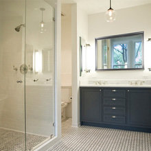 Фотография: Ванная в стиле Кантри, Дом, Дома и квартиры, Перепланировка, Нью-Йорк – фото на InMyRoom.ru