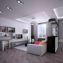 Фото из портфолио Квартира-студия №69 на Западе  – фотографии дизайна интерьеров на INMYROOM