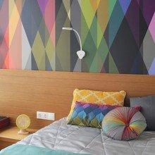Фотография: Спальня в стиле Современный, Эклектика, Эко, Квартира, Минимализм, Проект недели – фото на InMyRoom.ru