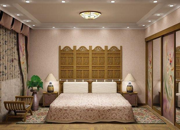 Фотография: Спальня в стиле Восточный, Декор интерьера, Квартира, Дом, Декор, Ремонт на практике – фото на InMyRoom.ru