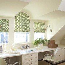 Фотография: Кабинет в стиле Современный, Интерьер комнат, Мансарда – фото на InMyRoom.ru