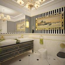 Фото из портфолио Санузел с золотыми мотивами – фотографии дизайна интерьеров на InMyRoom.ru