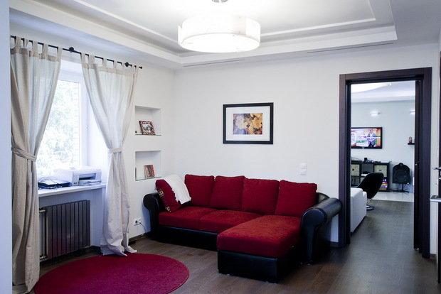 Фото из портфолио Квартира в стиле минимализм, хай-тек. – фотографии дизайна интерьеров на INMYROOM