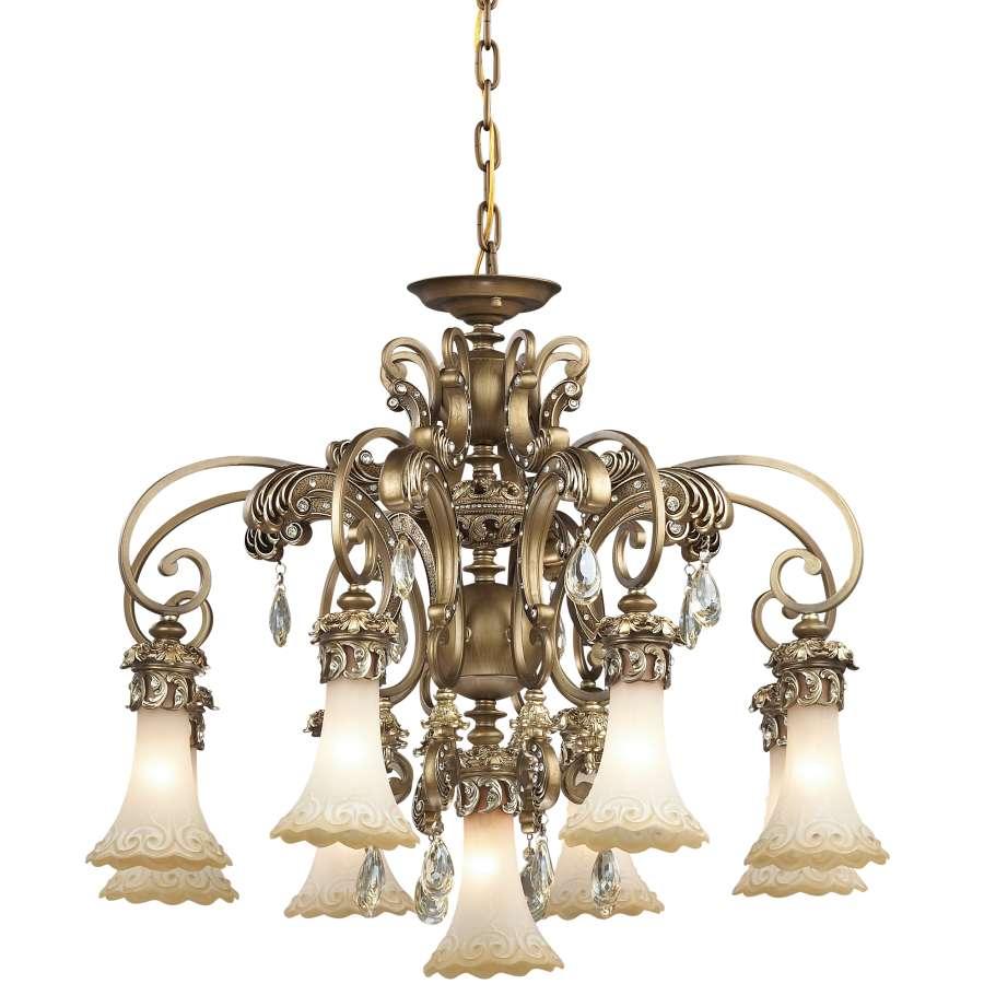 Купить со скидкой Подвесная люстра Odeon Light Ponga в классическом стиле