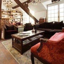Фотография: Гостиная в стиле Кантри, Стиль жизни, Советы, Париж, Airbnb – фото на InMyRoom.ru