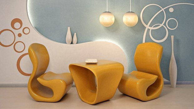 Фотография: Мебель и свет в стиле Хай-тек, Декор интерьера – фото на InMyRoom.ru