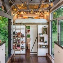 Фотография: Кухня и столовая в стиле Лофт, Скандинавский, Дача, Дом и дача – фото на InMyRoom.ru