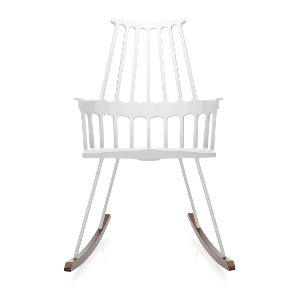 Кресло-качалка Comback белого цвета