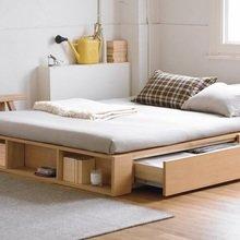 Фотография: Спальня в стиле Лофт, Малогабаритная квартира, Дома и квартиры – фото на InMyRoom.ru