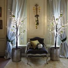 Фотография: Декор в стиле Кантри, Декор интерьера, Квартира, Праздник, Новый Год, Гирлянда – фото на InMyRoom.ru