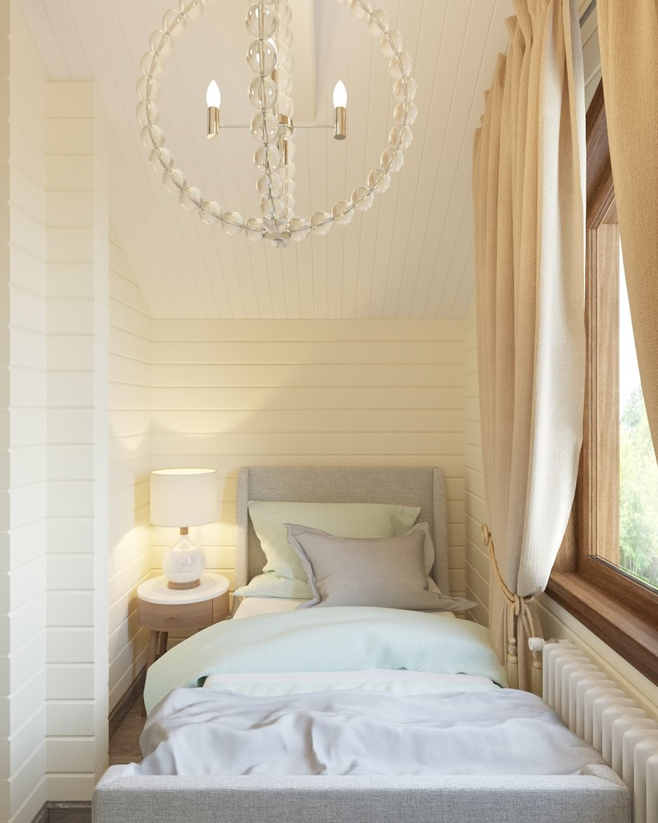 Фотография: Спальня в стиле Современный, Дом, Проект недели, Дом и дача – фото на InMyRoom.ru