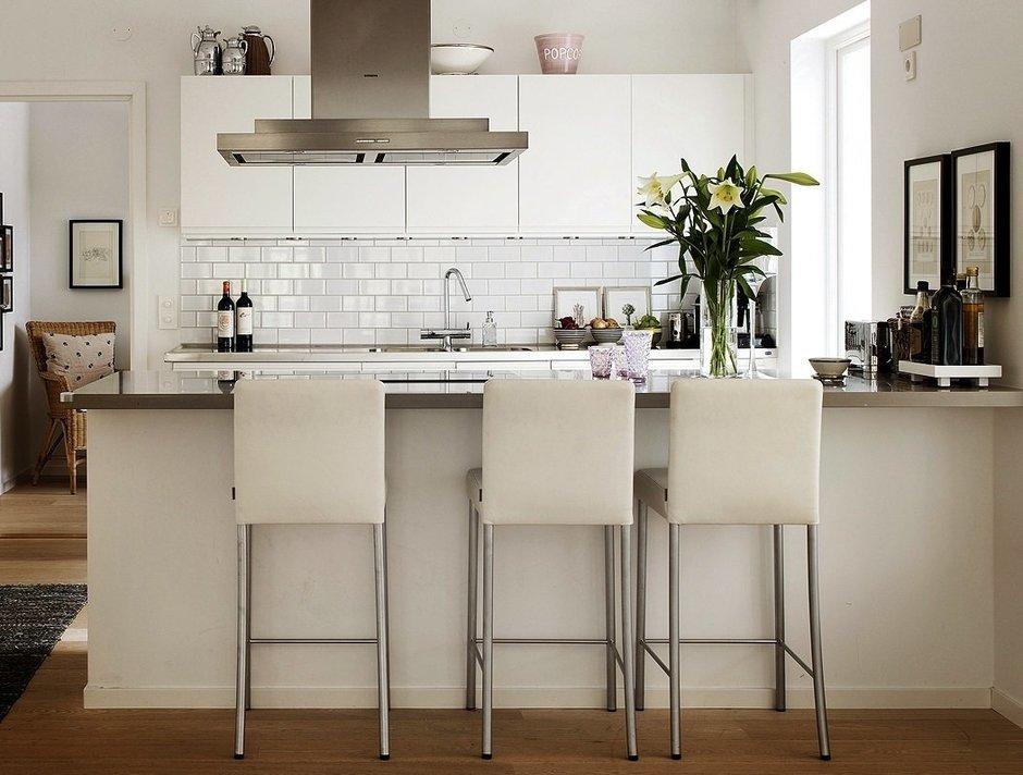 Фотография: Кухня и столовая в стиле Современный, Скандинавский, Дом, Дома и квартиры – фото на InMyRoom.ru