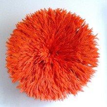 Камерунская шляпа  большая (75 см) Оранжевая