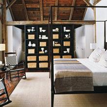 Фотография: Спальня в стиле Кантри, Современный, Декор интерьера, Интерьер комнат, Ретро – фото на InMyRoom.ru