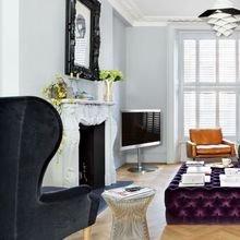 Фотография: Гостиная в стиле Кантри, Эклектика, Дизайн интерьера, Лондон, Викторианский – фото на InMyRoom.ru