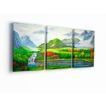 Модульная картина на холсте: Альпийский пейзаж