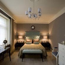 Фотография: Спальня в стиле Кантри, Квартира, Мебель и свет, Дома и квартиры, Подсветка – фото на InMyRoom.ru