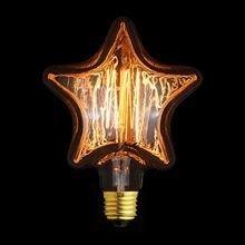 Лампа накаливания прозрачная звезда