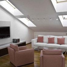 Фото из портфолио Дизайн интерьера квартиры на мансарде в Риге – фотографии дизайна интерьеров на INMYROOM
