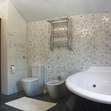 Фото из портфолио Дом в Тарусе – фотографии дизайна интерьеров на INMYROOM