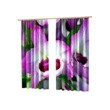 Красивые дизайнерские фотошторы: Розовая орхидея