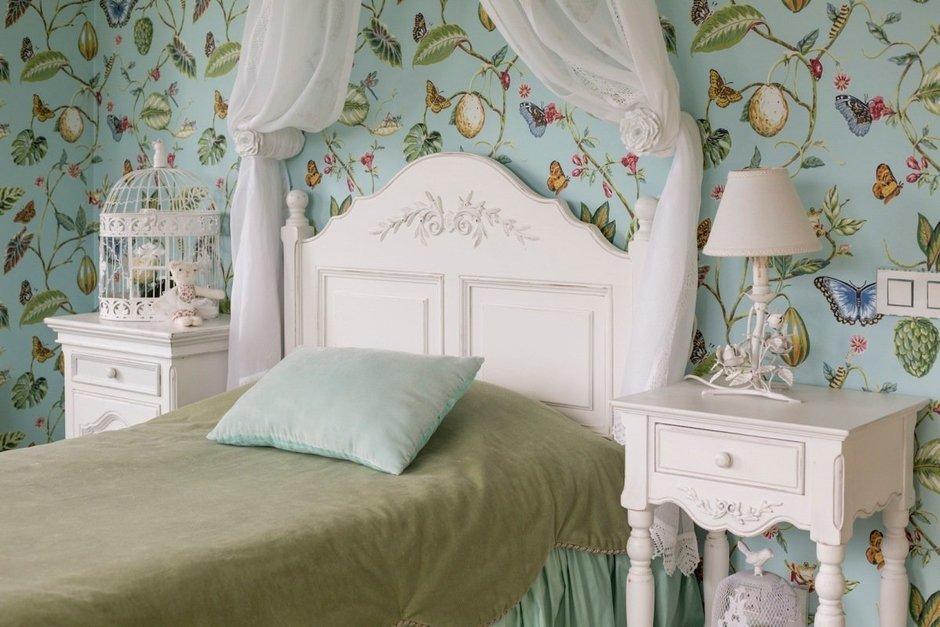 Фотография: Спальня в стиле Прованс и Кантри, Дом, Дома и квартиры – фото на InMyRoom.ru
