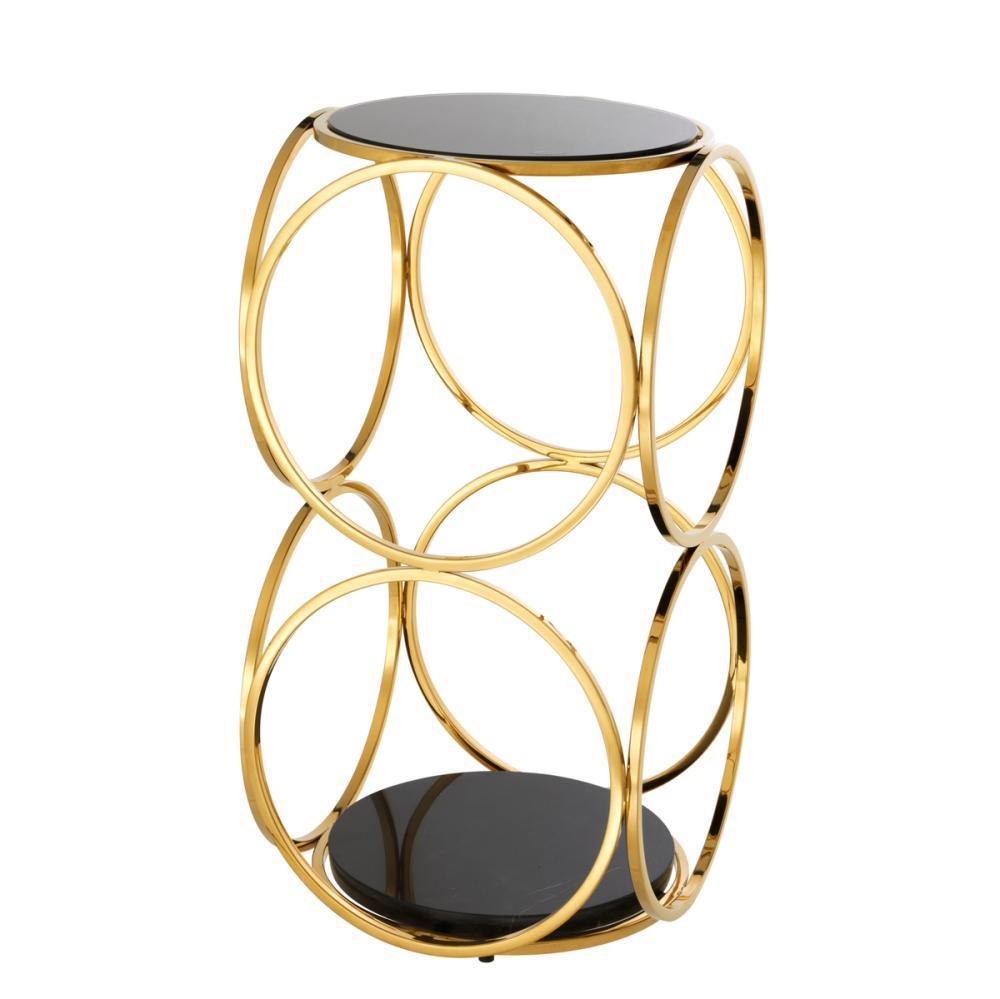 Купить Приставной столик Alister с мраморной столешницей, inmyroom, Нидерланды