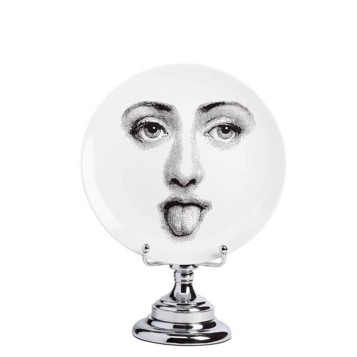 Декоративная тарелка на подставке Пьеро Форназетти Smilzo