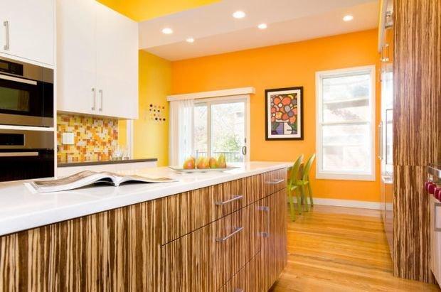 Фотография: Гостиная в стиле Классический, Кухня и столовая, Декор интерьера, Квартира, Дом, Декор, Оранжевый – фото на InMyRoom.ru