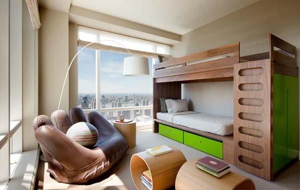 Фотография: Детская в стиле Хай-тек, Интерьер комнат – фото на INMYROOM