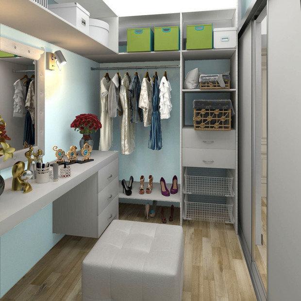 Фото из портфолио Квартира для студентки – фотографии дизайна интерьеров на INMYROOM