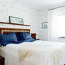 Фотография: Спальня в стиле Кантри, Малогабаритная квартира, Квартира, Швеция, Дома и квартиры – фото на InMyRoom.ru