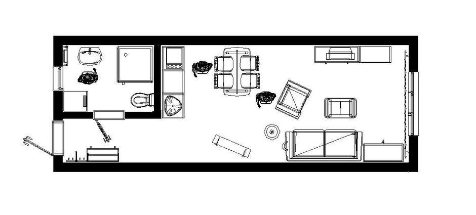 Фотография: Планировки в стиле , Скандинавский, Квартира, Дома и квартиры, Проект недели – фото на InMyRoom.ru