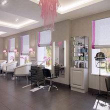 Фото из портфолио Дизайн интерьера салона красоты в Вентспилсе – фотографии дизайна интерьеров на INMYROOM