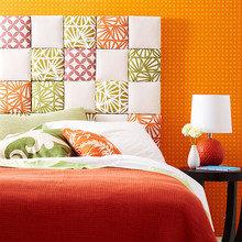 Фотография: Спальня в стиле Современный, Декор интерьера, DIY, Кровать – фото на InMyRoom.ru