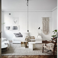 Фотография: Гостиная в стиле Скандинавский, Декор интерьера, Квартира – фото на InMyRoom.ru