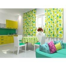 Кухонная скатерть: Лимонный переворот