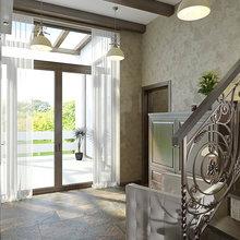 Фото из портфолио Дачный домик – фотографии дизайна интерьеров на INMYROOM