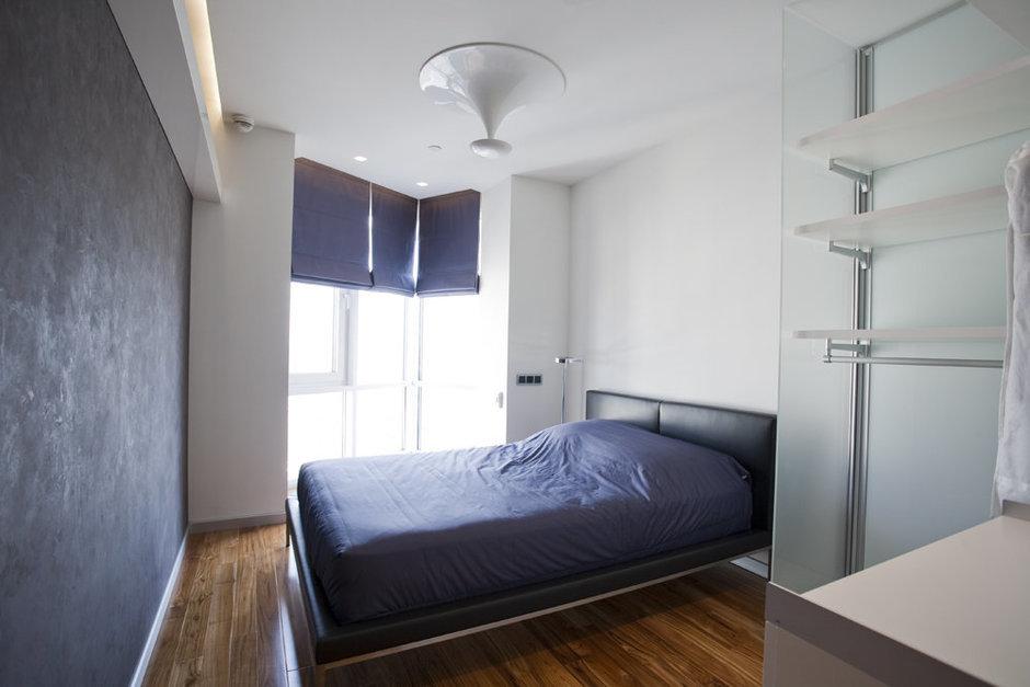 Фотография: Спальня в стиле Лофт, Современный, Квартира, Дома и квартиры, Минимализм – фото на InMyRoom.ru