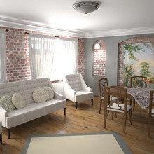 Фотография: Гостиная в стиле Кантри – фото на InMyRoom.ru
