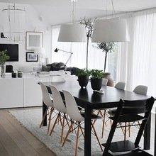 Фотография: Кухня и столовая в стиле Скандинавский, Цвет в интерьере, Стиль жизни, Советы, Белый – фото на InMyRoom.ru