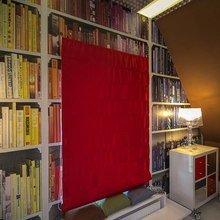 Фотография: Декор в стиле , Спальня, Лофт, Интерьер комнат, Дача, Дачный ответ, Библиотека, Мансарда – фото на InMyRoom.ru