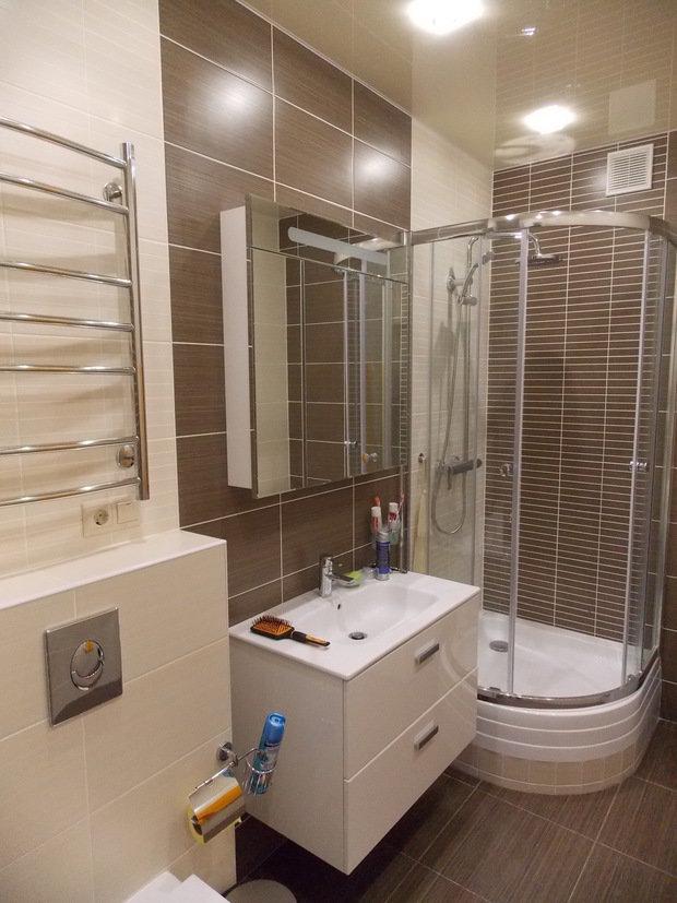 Фото из портфолио визуализация /реализация ванной комнаты  – фотографии дизайна интерьеров на INMYROOM