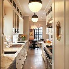 Фотография: Кухня и столовая в стиле Кантри, Современный, Декор интерьера, Декор дома, Кухонный остров – фото на InMyRoom.ru