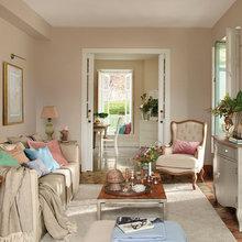 Фотография: Гостиная в стиле Кантри, Декор интерьера, Дом и дача – фото на InMyRoom.ru