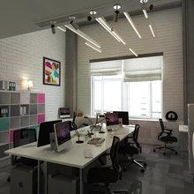 Фото из портфолио Офис для строительной компании – фотографии дизайна интерьеров на INMYROOM