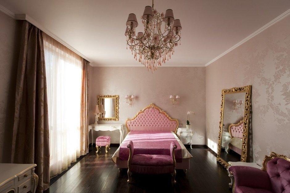 Фотография: Спальня в стиле Классический, Современный, Квартира, Дома и квартиры, Москва – фото на InMyRoom.ru